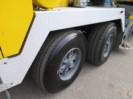 tms750b 50 ton hydraulic truck crane 110 feet boom plus jib crane