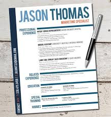 marketing resume template the jason resume design business sales marketing customer