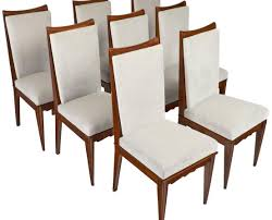 walnut dining room chairs dining chair stunning mid century stamped henredon set of 8