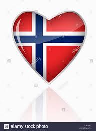Norweigan Flag Norwegian Flag People Stockfotos U0026 Norwegian Flag People Bilder