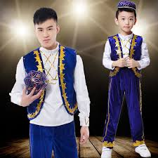 philippines traditional clothing for kids 5 pcs new boy india dancing costume child tibetan dance clothes