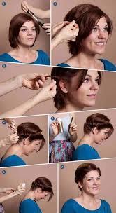 Hochsteckfrisurenen Zum Nachmachen Kurze Haare by 25 Beste Ideeën Ballfrisuren Selber Machen Kurze Haare Op