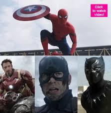 Tony Stark Halloween Costume Captain America Civil War Trailer 2 Spider Man Finally