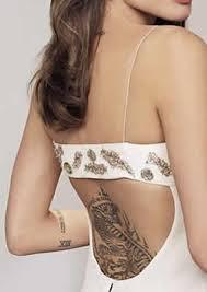 fashionistas lower back tatoos a spot to have tatoo