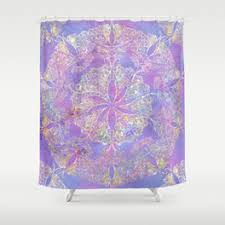 Purple And Gold Shower Curtain Buddhist Shower Curtains Society6