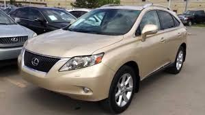 lexus rx 350 manual pre owned golden autium metallic 2010 lexus rx 350 awd touring