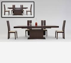 Modern Extendable Dining Table by Dreamfurniture Com Zenith Modern Red Oak Extendable Dining Table