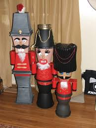 my flower pot nutcrackers with beer can arms the short one u0027s hat