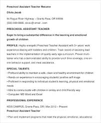 Medical Assistant Resume Template Free Sample Teacher Assistant Resume Resume Samples And Resume Help