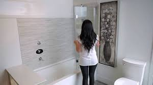 discover the flip shower door youtube