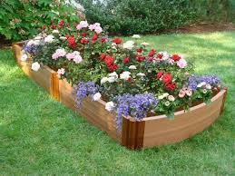 Backyard Flower Garden Ideas Raised Bed Flower Garden Design Landscaping Pinterest Flower