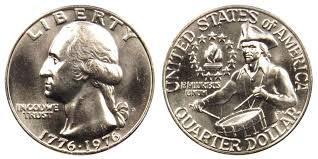 1976 d washington quarters bicentennial design value and prices