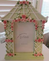 shabby chic pink rose trellis photo frame 162648731872 14 99