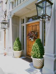 front entryway planters houzz