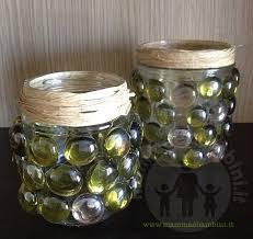 vasi decorativi vasi decorativi con sassi di vetro fai da te mamma e bambini