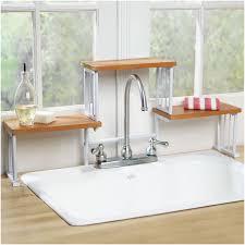 kitchen unique kitchen sink design ideas with over the sink shelf