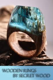 jewelry wooden rings images Quiet corner secret worlds inside wooden rings by secret wood jpg