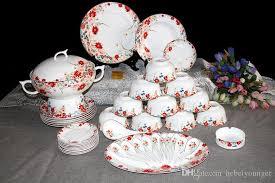 dinner set tableware ceramic porcelain blossom bone china