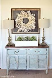 great simple instructions for how to decorate a buffet home
