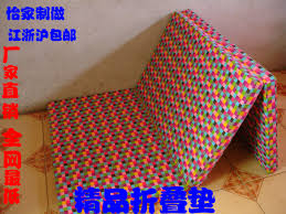 single double high density foam folding mattress sierran pad