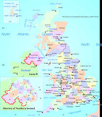 Map Of England by Map Of The United Kingdom Map Of United Kingdom Of Great Britain