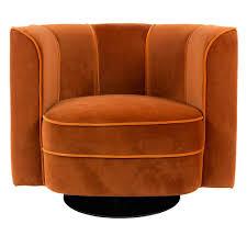 Tub Armchair Art Nouveau Tub Chair In Orange Occasional Chairs U0026 Sofas Cuckoola