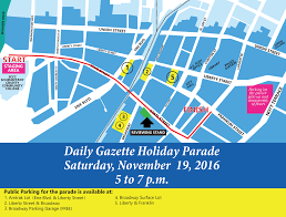 Thanksgiving Parade Map Parade Capital Region Chamber Of Commerce