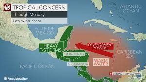 Map Caribbean by Caribbean East Atlantic May Spawn Tropical Threats In Coming Days