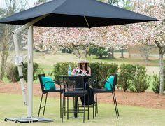 Portable Patio Umbrella by Outdoor Patio Umbrella Offset 10 U0027 Hanging Large Cover Canopy