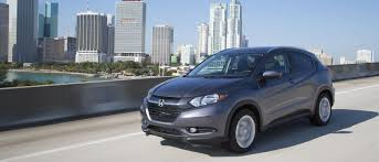 crossover honda 2016 the 2016 honda hr v is compact efficient and safety conscious