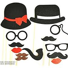 photo booth party props 13 pc photo booth party props mustache on a stick