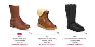 ugg sale saks up to 50 ugg boots and slippers starting at 59 99