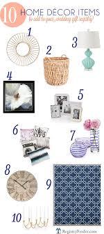 wedding gift registry finder top 10 home décor items to add to your wedding gift registry