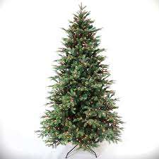 7 1 2 foot noble fir tree faux trees home osh