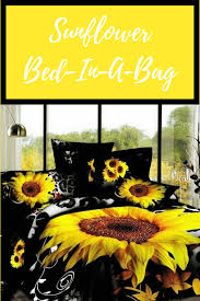 Sunflower Bed Set Sunflower Bed In A Bag