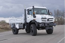 mercedes truck 2013 mercedes tough as nails unimog gets look engines for 2013