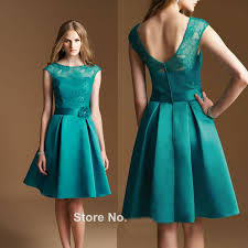wedding party dresses for women vintage green bridesmaid dresses 2016 simple scoop a line
