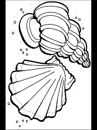 ocean coloring pages print color craft