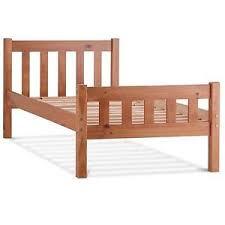Single Frame Beds Wooden Single Bed Ebay