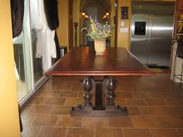 Spanish Colonial Furniture by European Paint Finishes Spanish Colonial Trestle Table