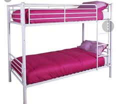 Bunk Bed With Mattress White Bunk Bed With Mattresses In Pudsey West Yorkshire Gumtree