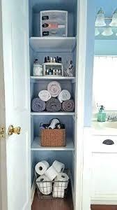 ideas for bathroom shelves bathroom closet ideas closet bathroom closet shelves closet shelving