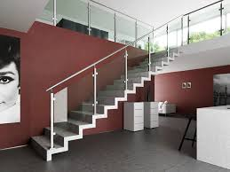 Indoor Banisters And Railings Indoor Stairs Trendy Modern Indoor Stairs Made Of Wood In