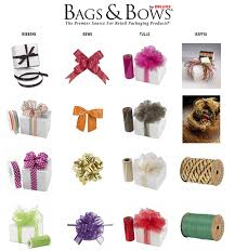 gift wrap bows retail small business marketing ideas tips bags bows 6