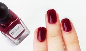 revlon parfumerie scented nail enamel bordeaux mateja u0027s beauty blog