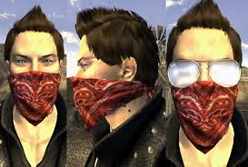 bandit mask halloween fallout new vegas mods and community