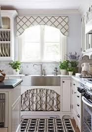 kitchen glamorous modern kitchen valances window treatment ideas