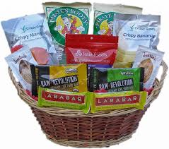 fresh and gluten free vegan gift basket for awesome house