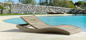 sun loungers to relax in the garden