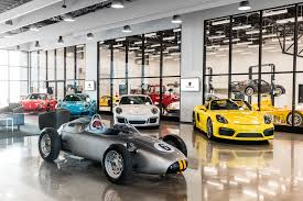 porsche garage porsche opens west coast experience center wheels ca